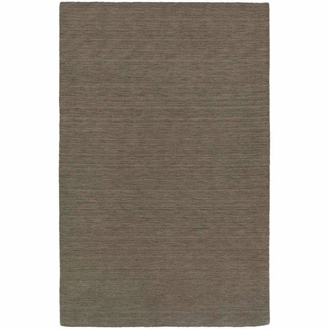 Aniston Green  Solid  Transitional Rug