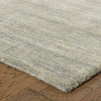 Tufted - Aniston Grey  Solid  Transitional Rug