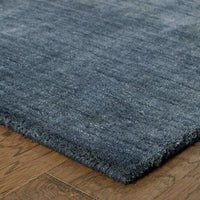 Tufted - Aniston Navy  Solid  Transitional Rug