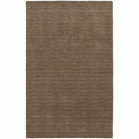 Oriental Weavers Aniston Tan  Solid  Transitional Rug