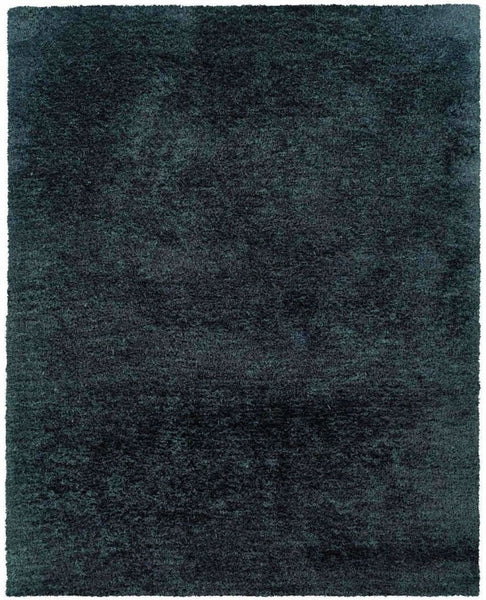 Tufted - Cosmo Black  Solid  Shag Rug