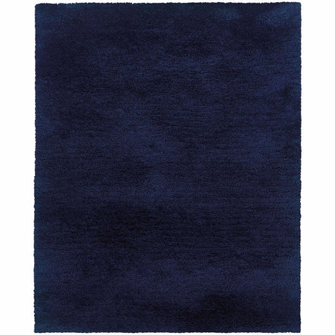Oriental Weavers Cosmo Blue  Solid  Shag Rug