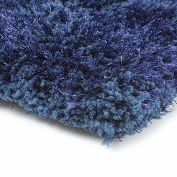 Tufted - Cosmo Blue  Solid  Shag Rug
