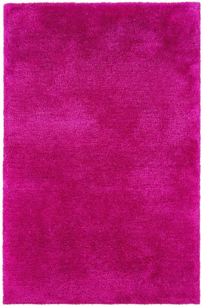 Tufted - Cosmo Pink  Solid  Shag Rug