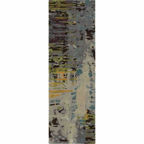 Tufted - Galaxy Multi Grey Abstract  Contemporary Rug