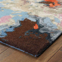 Tufted - Galaxy Multi Pink Abstract  Contemporary Rug