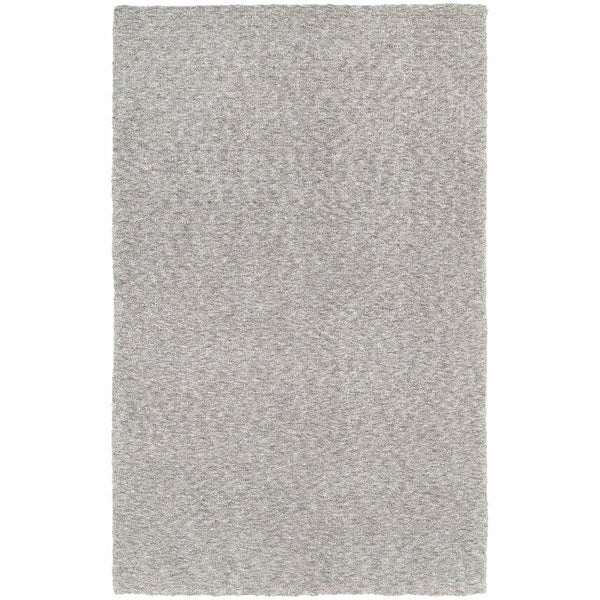 Oriental Weavers Heavenly Grey  Solid Heathered Shag Rug