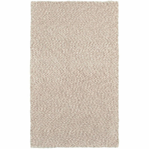 Oriental Weavers Heavenly Tan  Solid Heathered Shag Rug