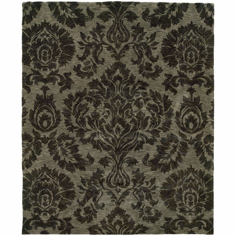 Oriental Weavers Huntley Grey  Floral  Transitional Rug