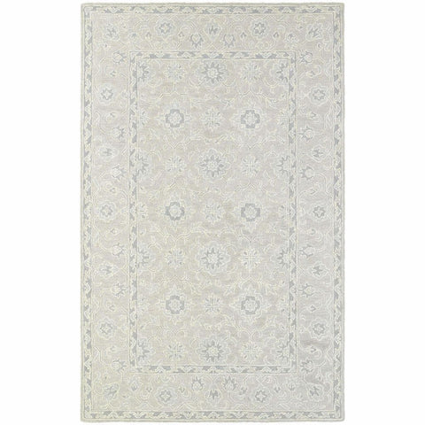 Oriental Weavers Manor Beige Grey Oriental Persian Traditional Rug