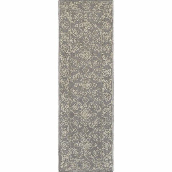 Tufted - Manor Grey Stone Oriental Persian Traditional Rug