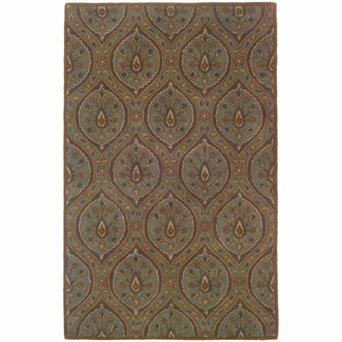 Oriental Weavers Windsor Blue Ivory Oriental Persian Traditional Rug