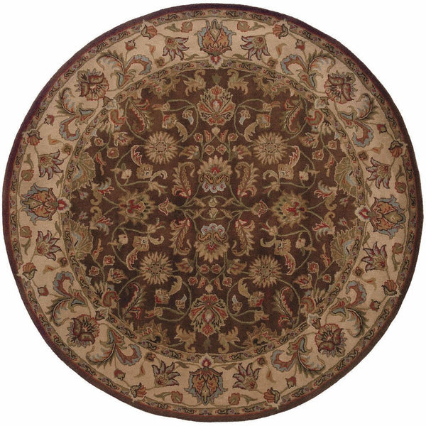 Tufted - Windsor Brown Beige Oriental Persian Traditional Rug