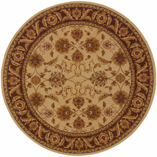 Woven - Allure Beige Brown Oriental Persian Traditional Rug