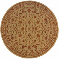 Woven - Allure Beige Red Oriental Persian Traditional Rug