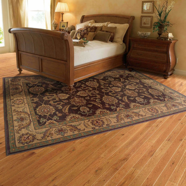 Woven - Allure Brown Beige Oriental Persian Traditional Rug
