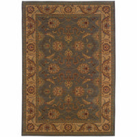 Allure Green Beige Oriental Persian Traditional Rug - Free Shipping