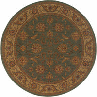 Woven - Allure Green Beige Oriental Persian Traditional Rug