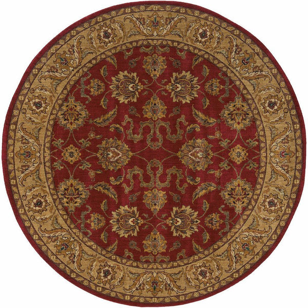 Woven - Allure Red Beige Oriental Persian Traditional Rug