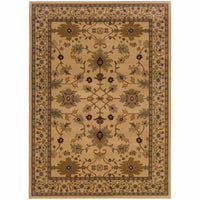 Woven - Amelia Ivory Green Oriental Persian Traditional Rug