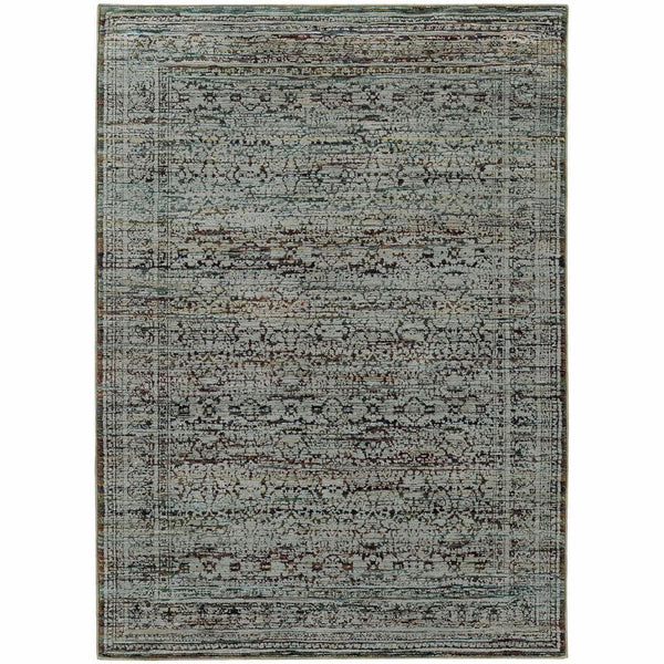Purple Rug Australia: Andorra Blue Purple Oriental Rug