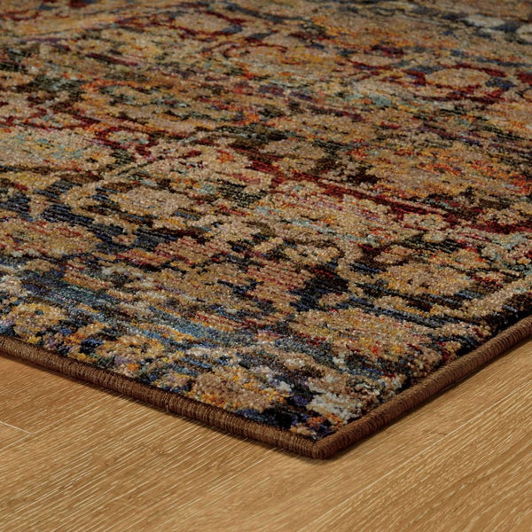 Woven - Andorra Multi Blue Abstract Ombre Transitional Rug