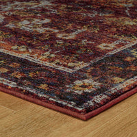 Woven - Andorra Red Purple Oriental Oriental Traditional Rug