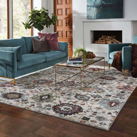 Woven - Andorra Stone Multi Oriental Persian Traditional Rug