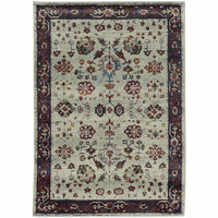 Andorra Stone Red Oriental Persian Traditional Rug - Free Shipping