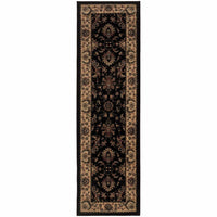 Woven - Ariana Black Ivory Oriental Traditional Traditional Rug