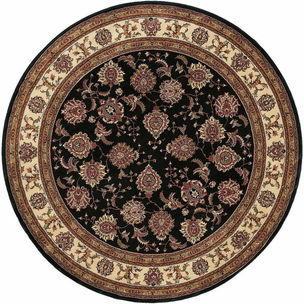 Woven - Ariana Brown Ivory Oriental Traditional Traditional Rug