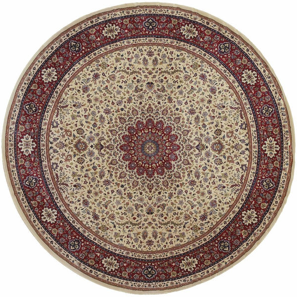 Woven - Ariana Ivory Red Oriental Traditional Traditional Rug