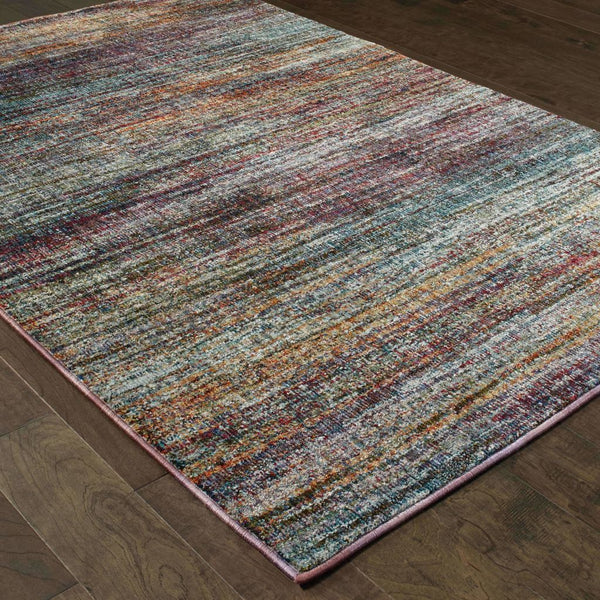 Woven - Atlas Multi Multi Abstract Distressed Casual Rug
