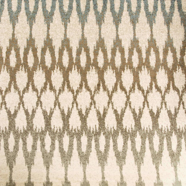 Woven - Brentwood Ivory Multi Geometric Ikat Transitional Rug