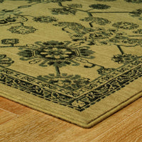 Woven - Foundry Beige Grey Oriental Persian Traditional Rug