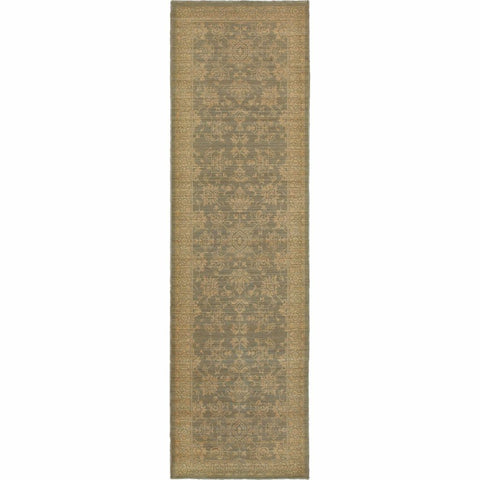 Oriental Weavers Foundry Blue Beige Oriental Persian Traditional Rug