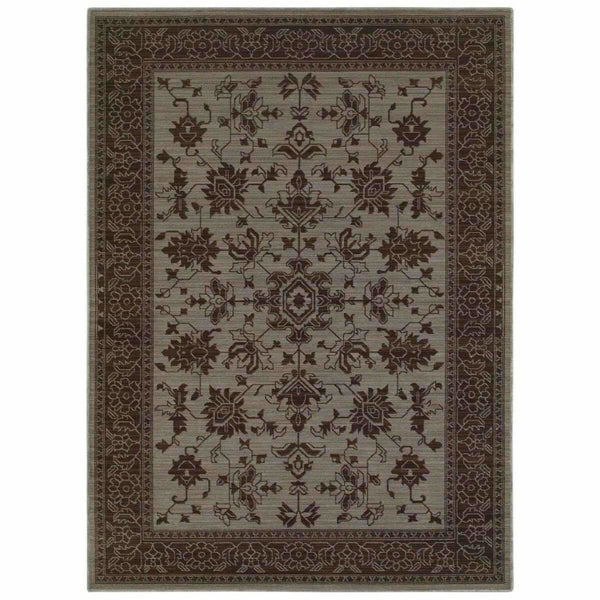 Foundry Blue Grey Oriental Persian Traditional Rug - Free Shipping