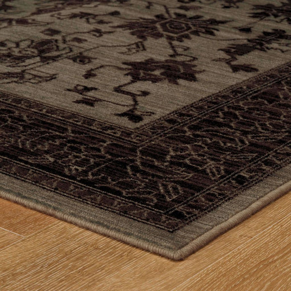Woven - Foundry Blue Grey Oriental Persian Traditional Rug