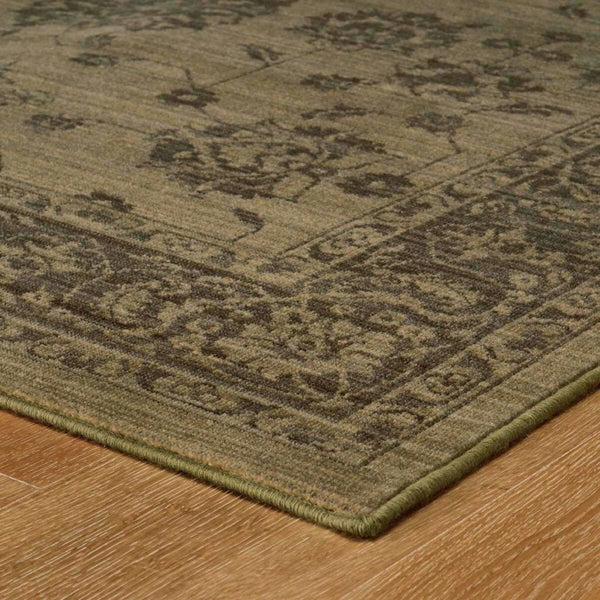 Woven - Foundry Grey Grey Oriental Persian Traditional Rug