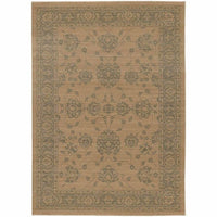 Foundry Sand Grey Oriental Persian Traditional Rug - Free Shipping