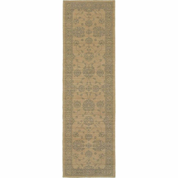Woven - Foundry Sand Grey Oriental Persian Traditional Rug