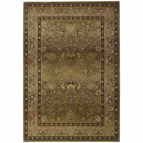 Oriental Weavers Generations Beige Green Oriental Persian Traditional Rug