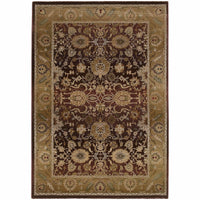 Generations Purple Gold Oriental Persian Traditional Rug - Free Shipping