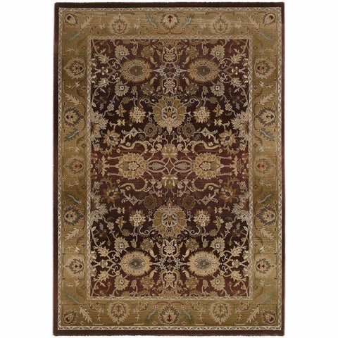 Oriental Weavers Generations Purple Gold Oriental Persian Traditional Rug