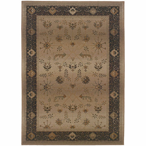 Oriental Weavers Genesis Beige Brown Oriental Persian Traditional Rug