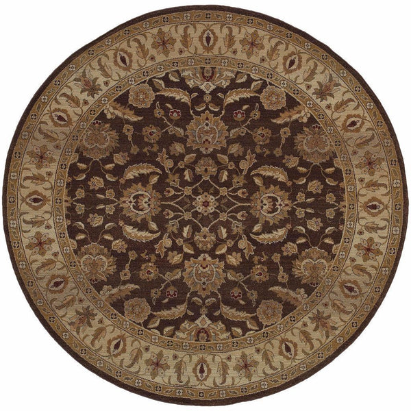 Woven - Genesis Brown Beige Oriental Persian Traditional Rug