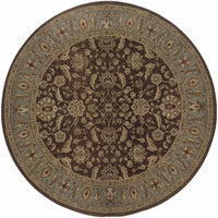 Woven - Genesis Brown Blue Oriental Persian Traditional Rug