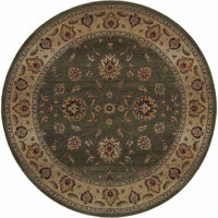 Woven - Genesis Green Beige Oriental Persian Traditional Rug