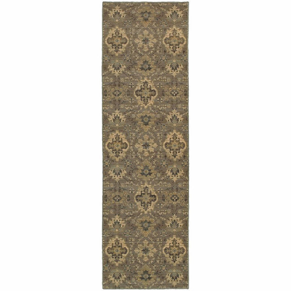 Woven - Heritage Blue Ivory Floral  Casual Rug