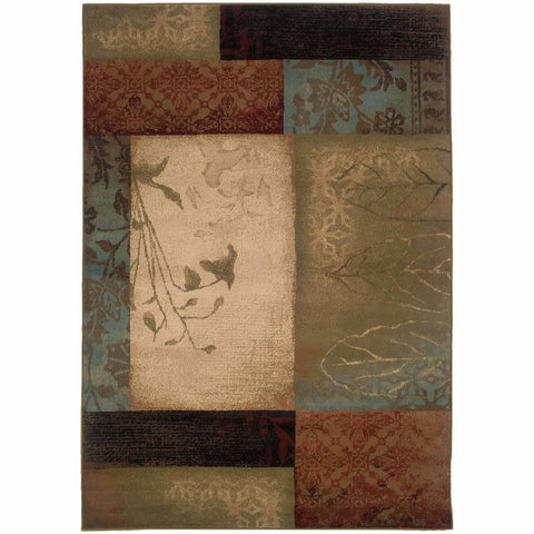 Rugs Cowhide Patchwork Sisal Contemporary Posh Rug
